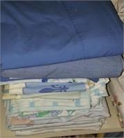 Blue Sheets & Pillow Cases