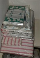 N I P Pillow Cases, Sheets Pink Striped