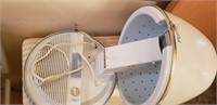 Blue Lady Schick Capri Consolette