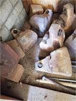 Dozen Heavy Concrete Tie Down Weights
