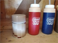 Thermos, Travel Cups W/ Straws