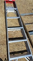 Folding 6ft Ladder, Red Top
