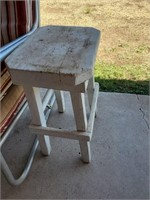 Wood Table/ Plant Stand