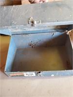 Empty Metal Drill Box