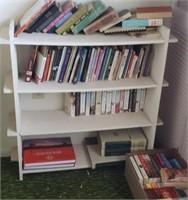 White Three Shelf Book Shelf