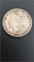 Silver coin auction with Morgan's, Peace & more