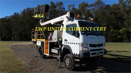 2013 Fuso Canter FG 4x4 - Trucks for Sale