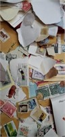 Huge estate lot of collectible stamps