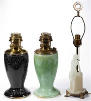 Spradley collection - remember the uncatalogued session on Thursday, July 23 at 3pm including a large selection of Aladdin and other lamps/parts