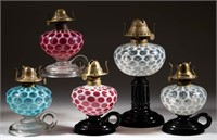 Fine selection of opalescent lighting from the Cobb collection