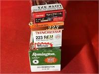 Approx 140rds Asst Brands 223 Ammunition