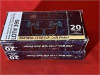20rds Monarch 308win 150gr