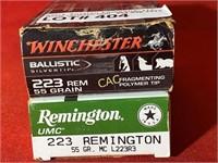 40rds Asst Brands 223rem Ammunition