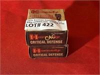 25rds Hornady 9mm luger 115gr