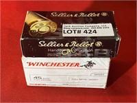 150rds Asst Brands 45auto Ammunition