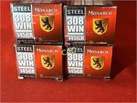 20rds Monarch 308win 145gr