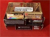 140rds Asst Brands 380 Ammuntion