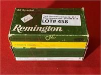 100rds Remington 38spl