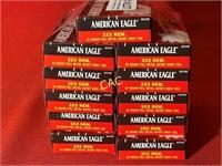 20rds American Eagle 223rem 62gr fmj