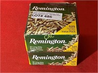 525rds Remington 22lr Brass Plated Hollow Points