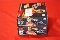 300rds CCI Copper Plated 22LR Mini Mag