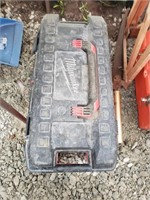 Milwaukee Tool box of misc