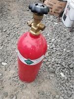 Red cylinder