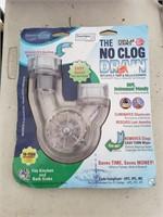 No clog drain new