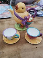 Easter Tea Set Lot 1