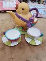 Easter Tea Set Lot 2