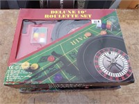 Deluxe Roulette Game new in box