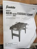 Brand new Foosball Game open box