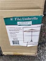 8' Tiki Umbrella