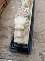 Elephant decoration (damaged)