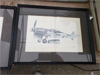 5 Separate Plane Artwork by John Batchelor