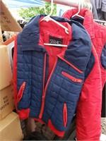 Blue/Red Serac jacket