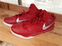 Red Nike Size 14