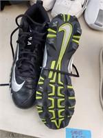 Grey-Black-Green Nike Alpha 11 Wide