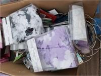 Large Fabric Confetti and Regular Confetti Lot