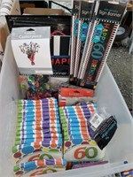 60th Birthday Party Supplies Lot *new*