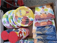 Sesame Street Party supplies lot
