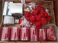 Christmas Box Lot #6   Beaded garland and
