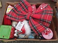 Christmas Box Lot #7  Misc Christmas Items