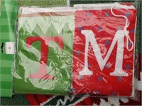 Christmas Rug and Banner