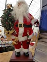 Santa with Tree