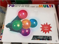 2 boxes Multi Colored Pearl Lights