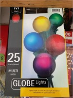 5 boxes of Globe Lights