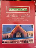 2 Boxes of Holiday Home Multi Color Icicle Lights