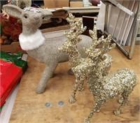 Reindeer Decorative Pieces