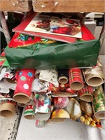 Christmas Wrapping and Gift Bag Lot- Some new